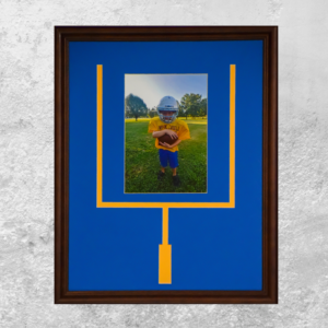 Youth Football Sports Frame